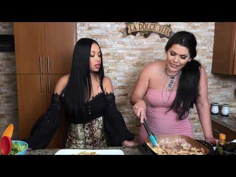 Angelina Castro y La Damosky en Sabor a Castro.