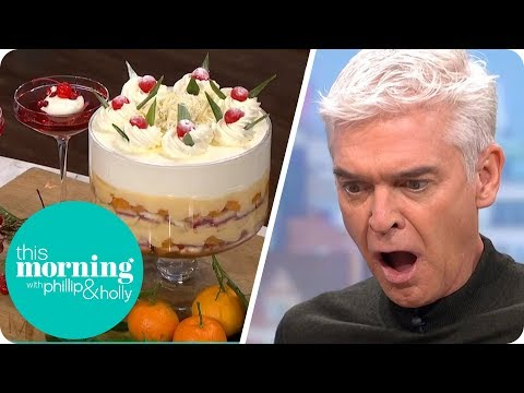 Phil Vickery's Retro Trifle and Champagne Jelly | This Morning