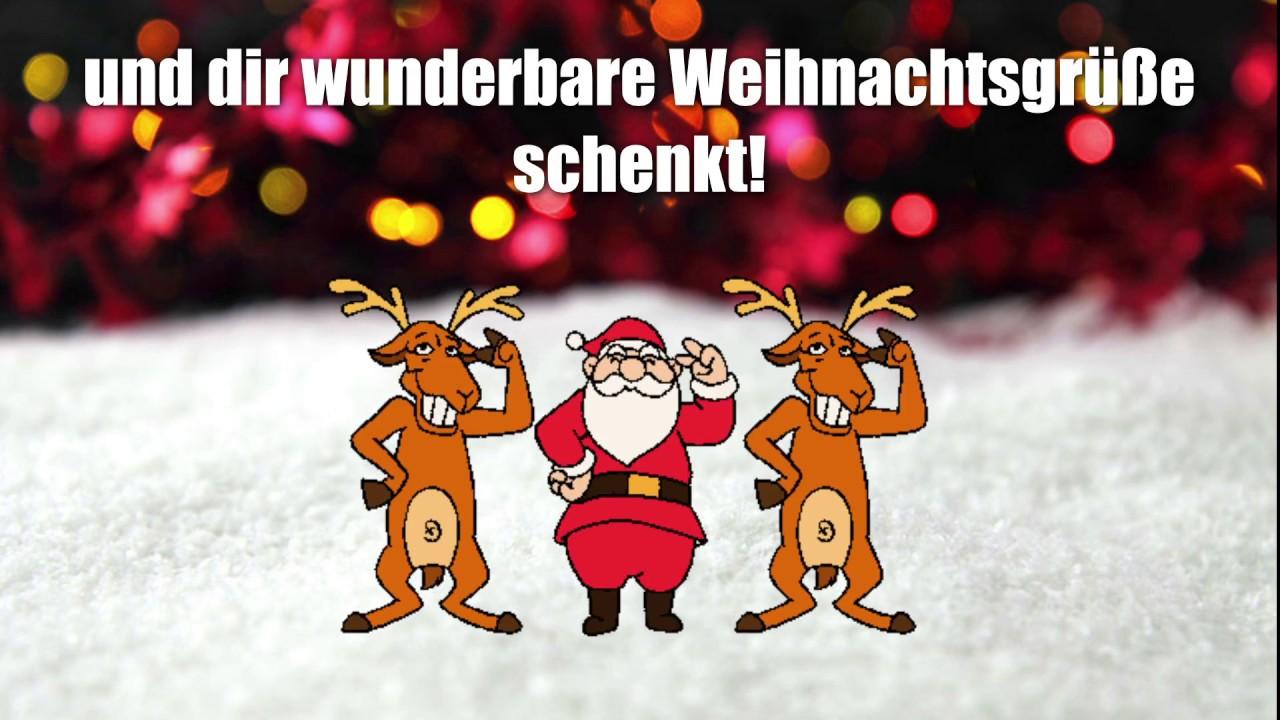 Weihnachtsgrüße Video