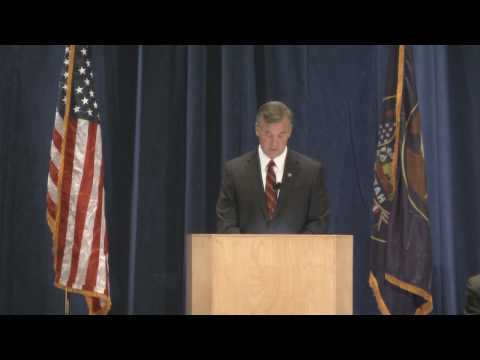 Peter Corroon Accepts Democratic Nomination For Governor of Utah