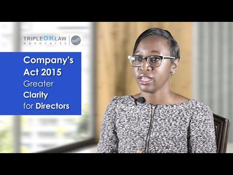 Role of Directors - Company's Act 2015 - Kenya - Tripleoklaw LLP
