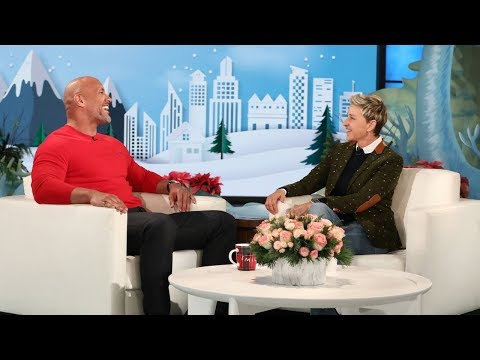 Dwayne 'Dwanta Claus' Johnson Is Coming to Town!