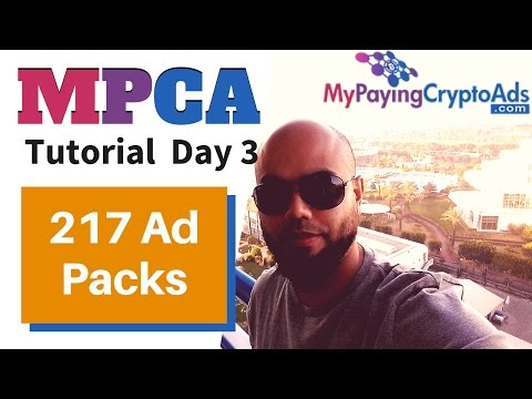 MY PAYING CRYPTO ADS REVIEW DAY 3│THE BEST PTC SITE 2017│AMIN