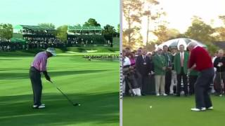 Swing Analysis - Arnold Palmer Old And Young