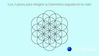 """""""Los 7 pasos para integrar la Geometría sagrada en tu vida"""" animación"""