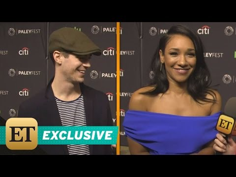 EXCLUSIVE: 'The Flash' Stars Grant Gustin and Candice Patton Talk WestAllen Wedding Plans!