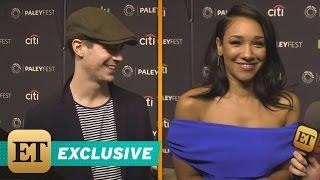 EXCLUSIVE: 'The Flash' Stars Grant Gustin and Candice Patton Talk WestAllen Wedding Plans!