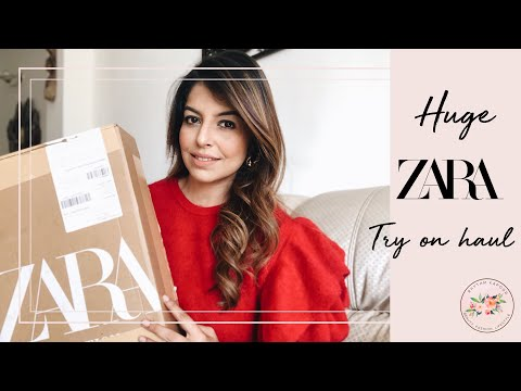 HUGE ZARA AUTUMN HAUL | ZARA TRY ON HAUL DECEMBER 2019 |