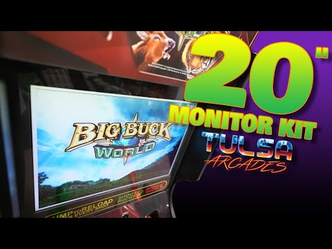 "Arcade1Up Big Buck Hunter Mod - Tulsa Arcades 20"" Monitor Kit! from COOLTOY"