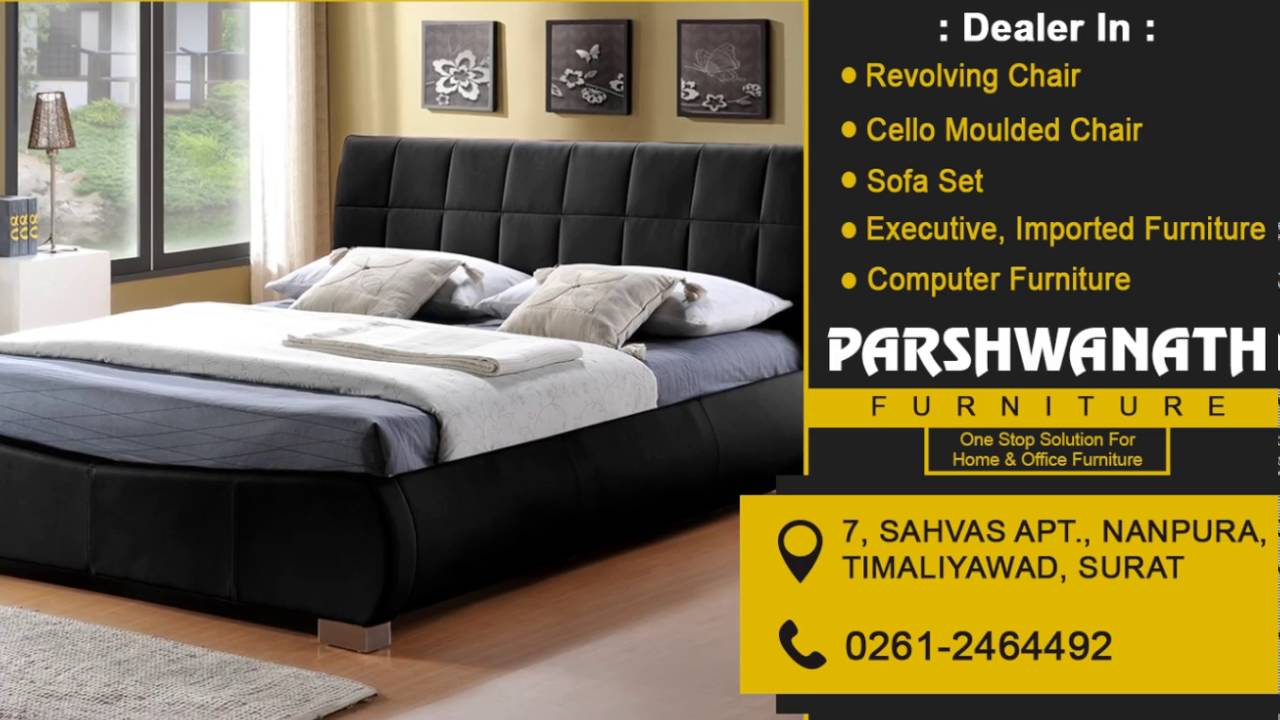 revolving chair in surat garden swing covers parshwanath furniture ad on woohoo screens youtube