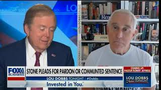 Roger Stone Joins Lou Dobbs to Discuss Corrupt Judge Amy Berman Jackson and the Obama Deep State