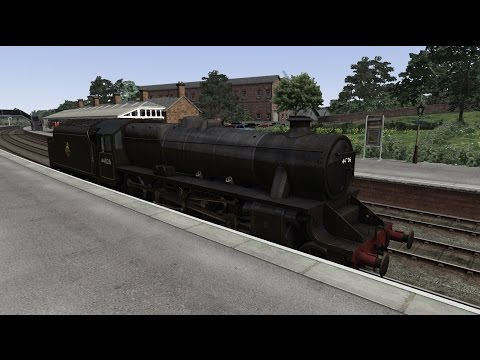 British Rail Black 5 - Rail Yard |