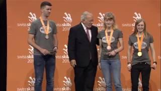 Sandra Schmied gewinnt an den SwissSkills 2018