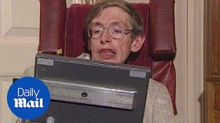 Stephen Hawking talks about A Brief History of Time in 1992 - Daily Mail