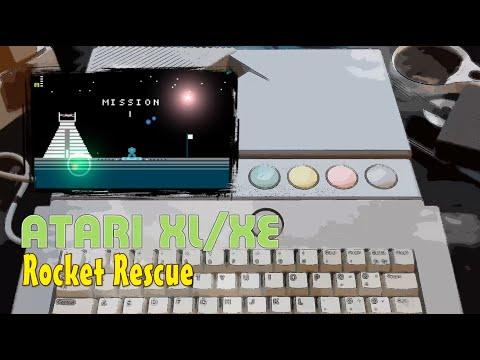 Atari XL/XE -=Rocket Rescue=-