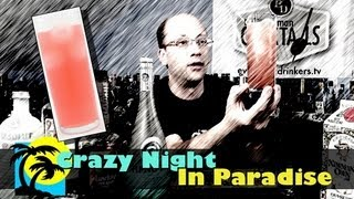 The Crazy Night In Paradise Cocktail