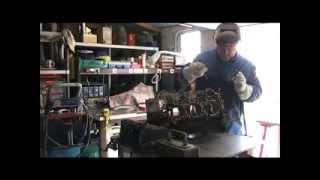 Weld a engine block / Soudage d'un bloc moteur Porsche 911 GT3 CUP