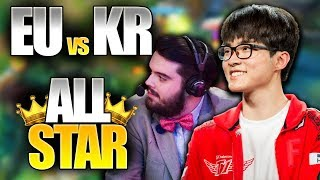 EUROPA vs KOREA en el ALL-STAR 2017 !! | Resumen y Highlights en Español