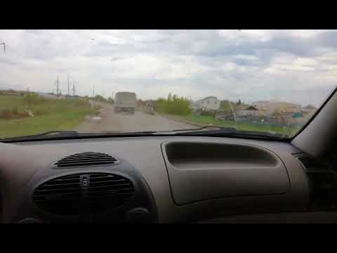 Разбитая дорога на Колокольцовку. Саратовская область