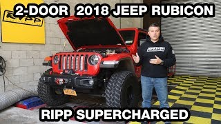 RIPP Supercharged 2 Door JL - On the Dyno!