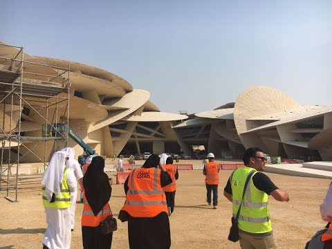 #QatarEvents: A sneak peek inside the new Qatar National Museum!