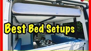 Best VanLife Bed Setups | Top Conversion Bed Layout
