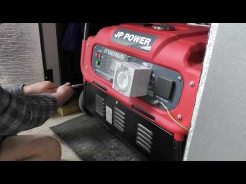 How I Store my generator so it starts when we need it. 4K  Video TEST