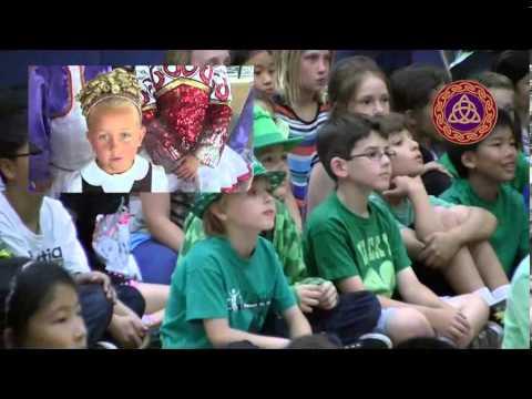 Irish Dancers Visit Poinsettia Elementary Carlsbad - YouTube