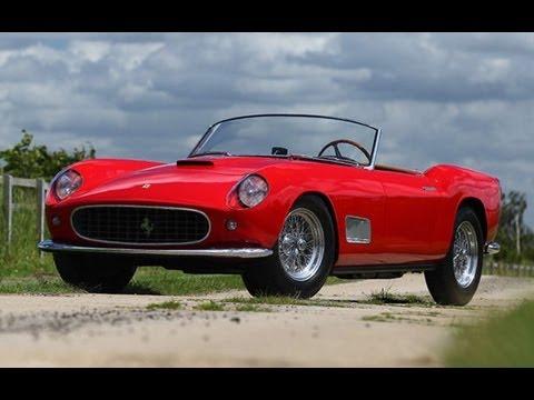 1957 Ferrari 250 Gt Lwb California Spider Prototype 6 600 000 Sold Youtube