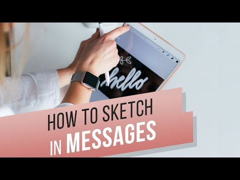 How to draw in iMessage?