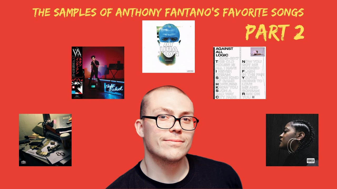 Fire Samples From Anthony Fantano's Favorite Songs #2