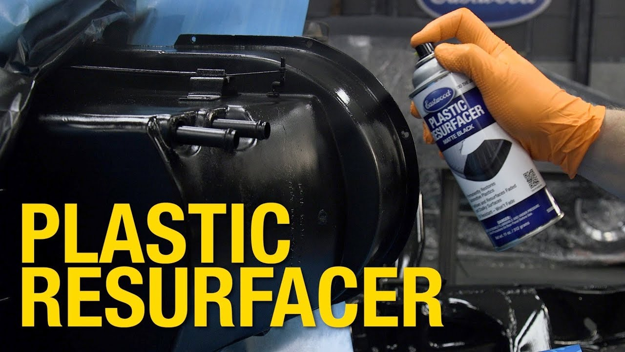 Restore Faded Plastic Parts - Plastic Resurfacer - Permanent Solution -  Eastwood