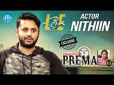 Lie Actor Nithiin Exclusive Interview || Dialogue With Prema #63 || Celebration Of Life #469
