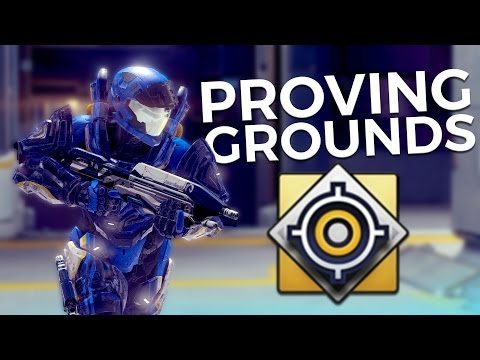 Halo 5 - Trying Out Proving Grounds!