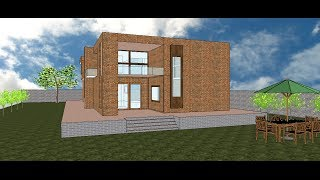 how to make a 3d model of a house
