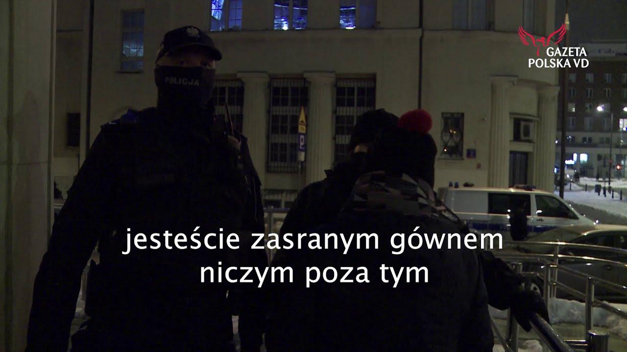 Strajk Kobiet: Uczestniczka obrażała policjantkę