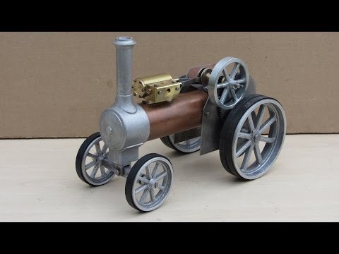 Simple Steam The Myfordboy Traction Engine Part 9 Front Axle and Wheels