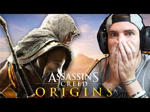 HO PROVATO ASSASSIN'S CREED ORIGINS!! INCREDIBILI!! - Assassin's Creed Origins GAMEPLAY ITA