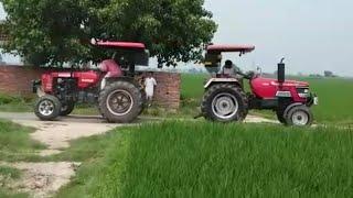Swaraj 855 vs Arjun 605 tractor tochan