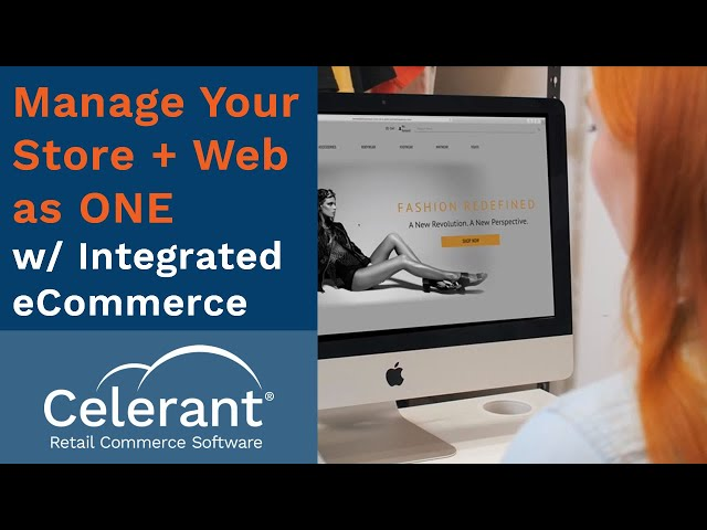 Manage your Store & Web as ONE w/ Cumulus eCommerce