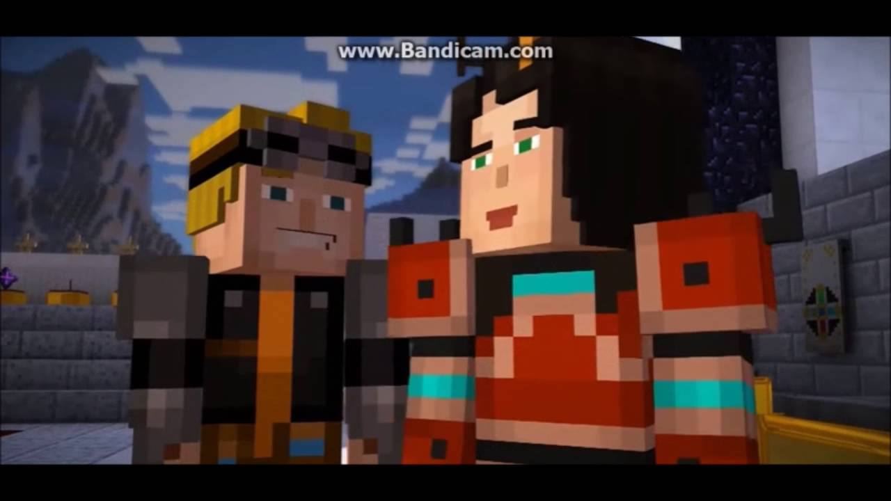 minecraft story mode jesse and lukas