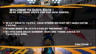 Sled Storm (PS2 Gameplay)