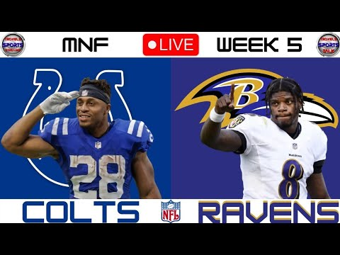 Live game updates: Colts lead Ravens on 'Monday Night Football'