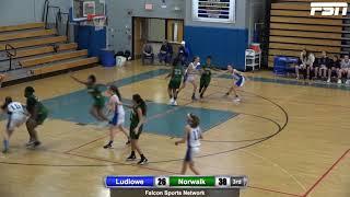 HIGHLIGHTS | Girls Basketball: Ludlowe vs Norwalk