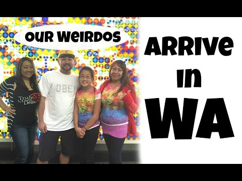 Vlog: Our Weirdos Arrive In WA