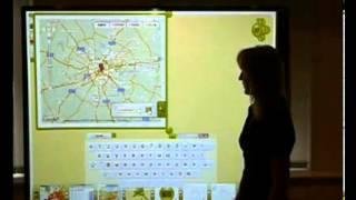Интерактивная доска на уроке в школе. WizTeach Ч.5. География.