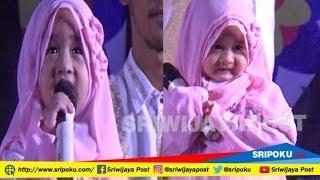 Tingkah Lucu Aishwa Nahla Bocah Imut Pelantun Sholawat 'Ya Asyiqol'