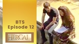 Hercai  ❖ BTS Episode 12  ❖ Akin Akinozu Speaking English ❖ Closed Captions 2019