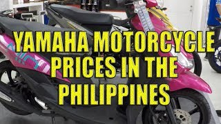 Yamaha Motorcycle Prices in the Philippines.