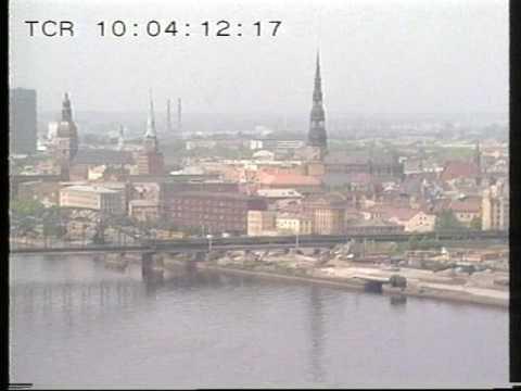Latvia - Riga - Cold War -  1988